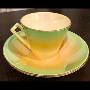 Art Deco Lustreware Teacup